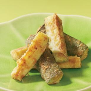 Try this week's Friday Featured recipe: Oven baked zucchini sticks!