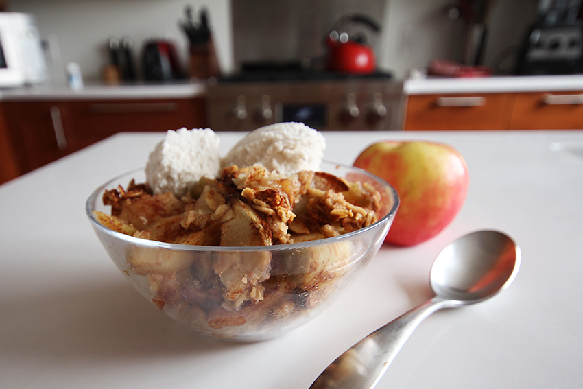 Therapeutic Thursday Recipe: Apple Crisp!