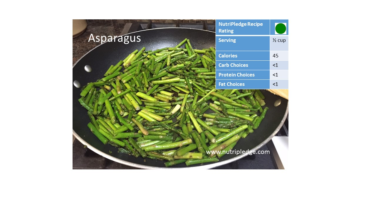 "Enjoy our Therapeutic Thursday Recipe! ""Sauteed Asparagus"", Recipe Rating and Therapeutic Value!"