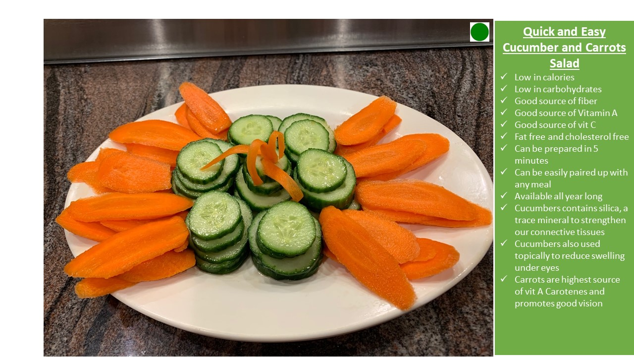 Carrots and Cucumbers; Quick, Easy, and Healthy Way to Get Your Veggies