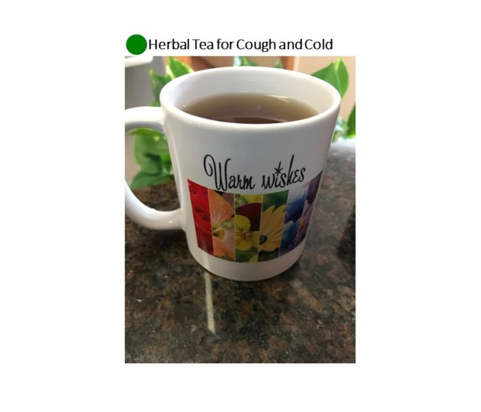 Herbal Tea for Cough and Cold: Health Promoting-Green Dot Recipe