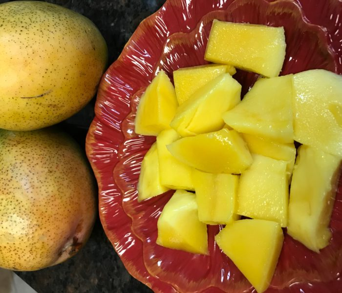 Why is it that nothing in the world can break your heart if you eat fresh mangoes?