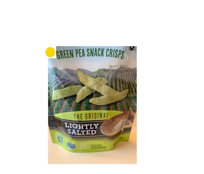 Green Pea Snack Crisps (Harvest Snaps)