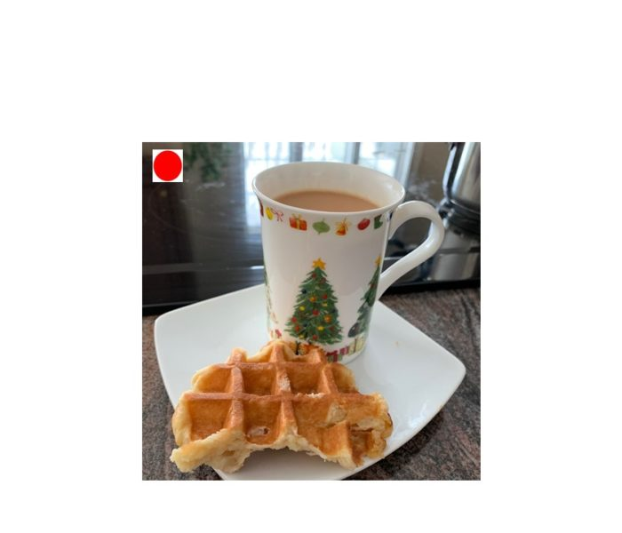 Friday Food Talk: Why I cut my favorite waffle in half?