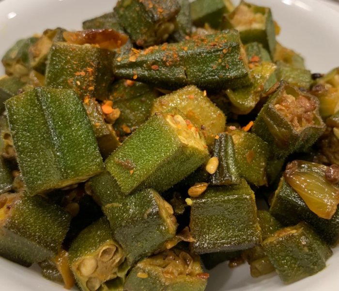 Super Heart Healthy Okra Recipe – Asian Indian Style