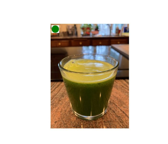 Immune Boosting and Health Promoting Green Juice