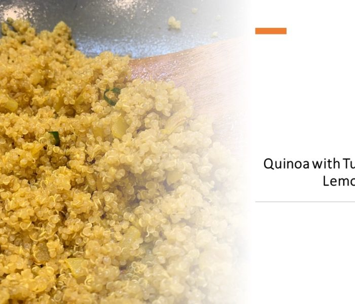 Quinoa with Turmeric and Lemon