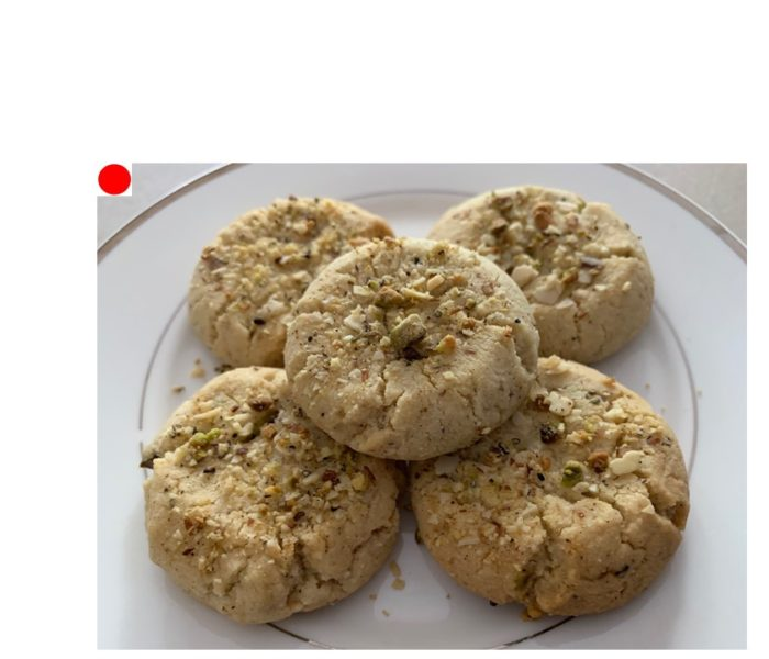 Almond Pistachio Cookie
