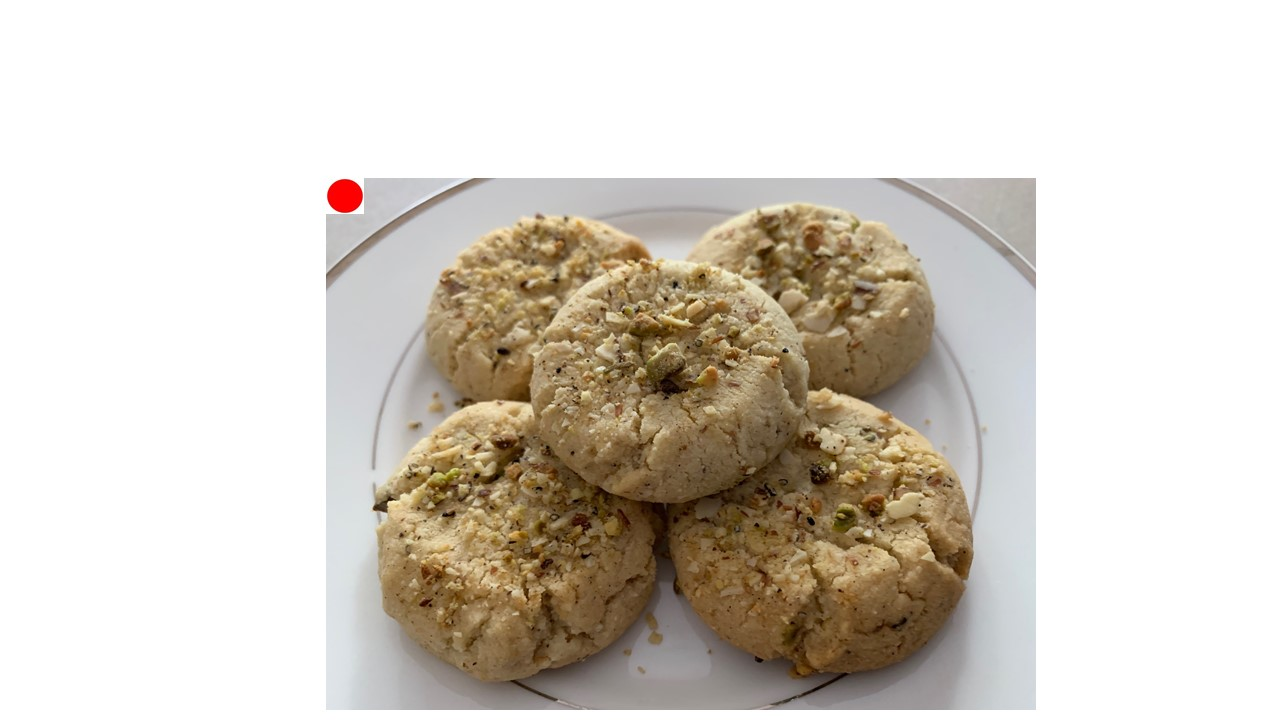 Almond Pistachio Cookie
