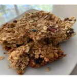 Healthy home baked granola