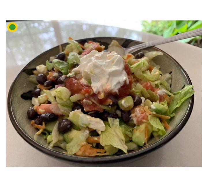 Super Healthy Taco  Bowl