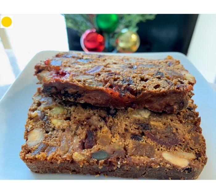 Healthy Festive Fruits & Nuts Whole-Wheat Coffee Cake