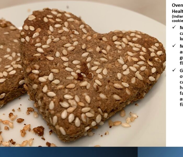 Oven-Fried, Heart Healthy Bajara Pua! (Pearl Millet flour cookie-Indian style)