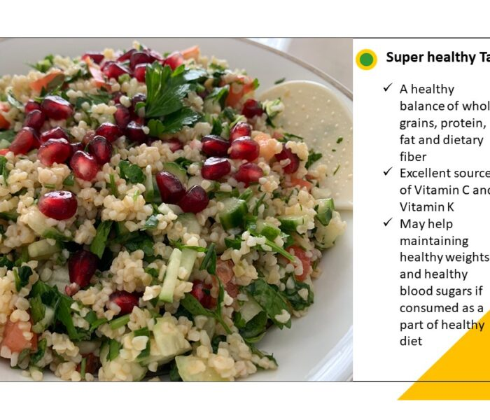 Super healthy Tabouli (Tabbouleh) Salad Recipe
