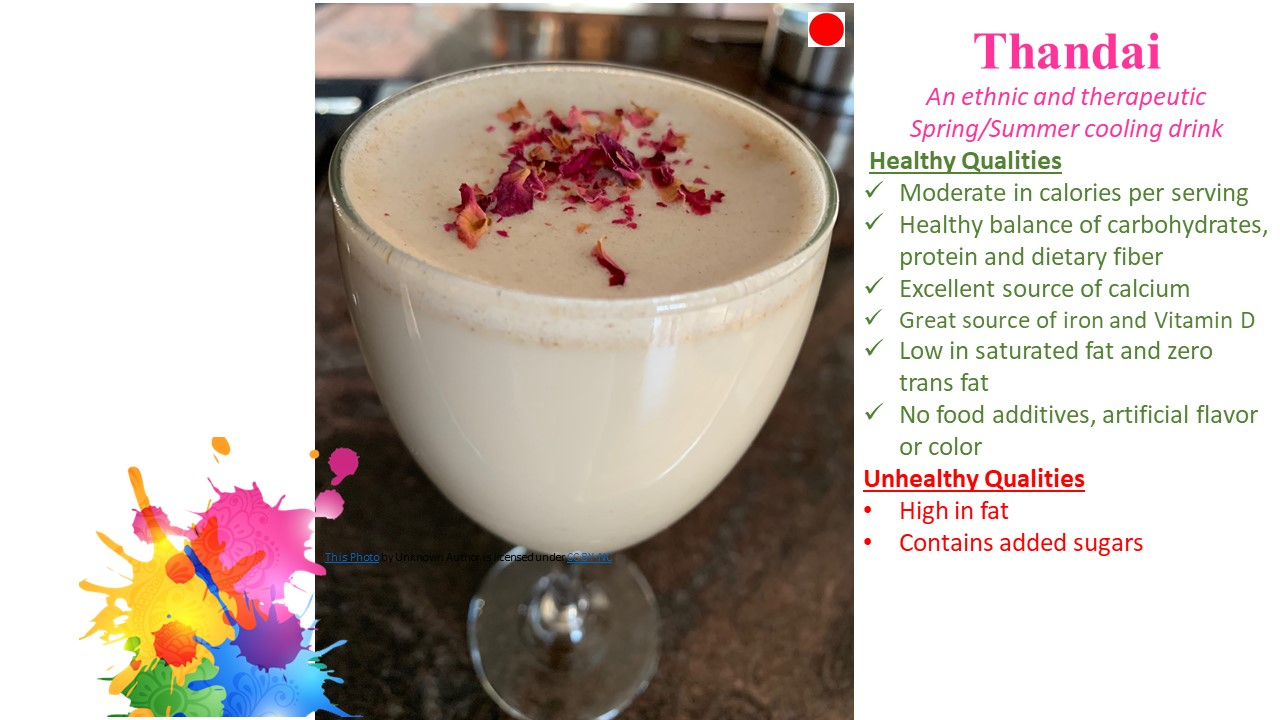 Thandai- A Cooling, Therapeutic Ethnic Drink