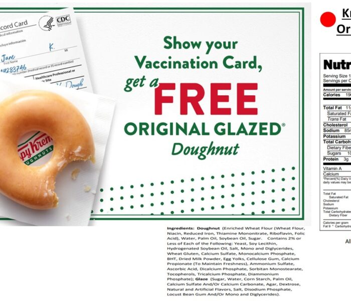 Free Donut a day from Krispy Kreme: Sweet but not so sweet!