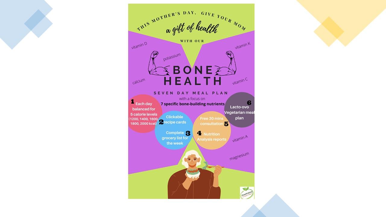 Bone health meal plan